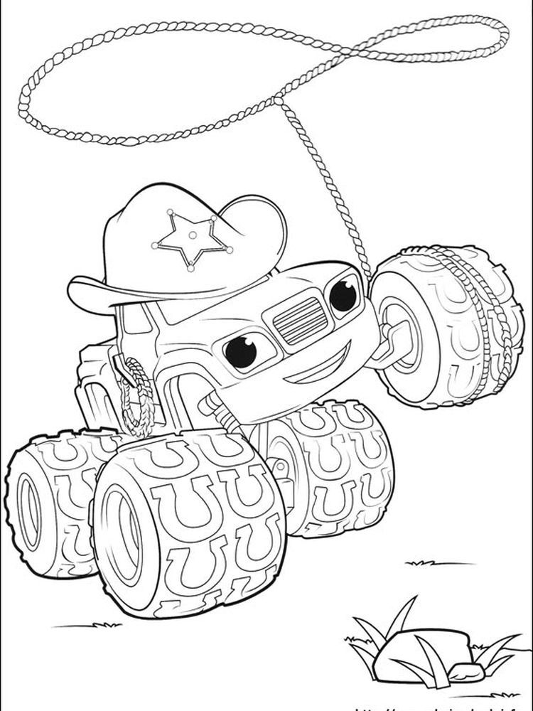 Printable Starla Blaze And The Monster Machine Is An Animated Television Series That Contains Sci In 2021 Coloring Pages Cartoon Coloring Pages Nick Jr Coloring Pages