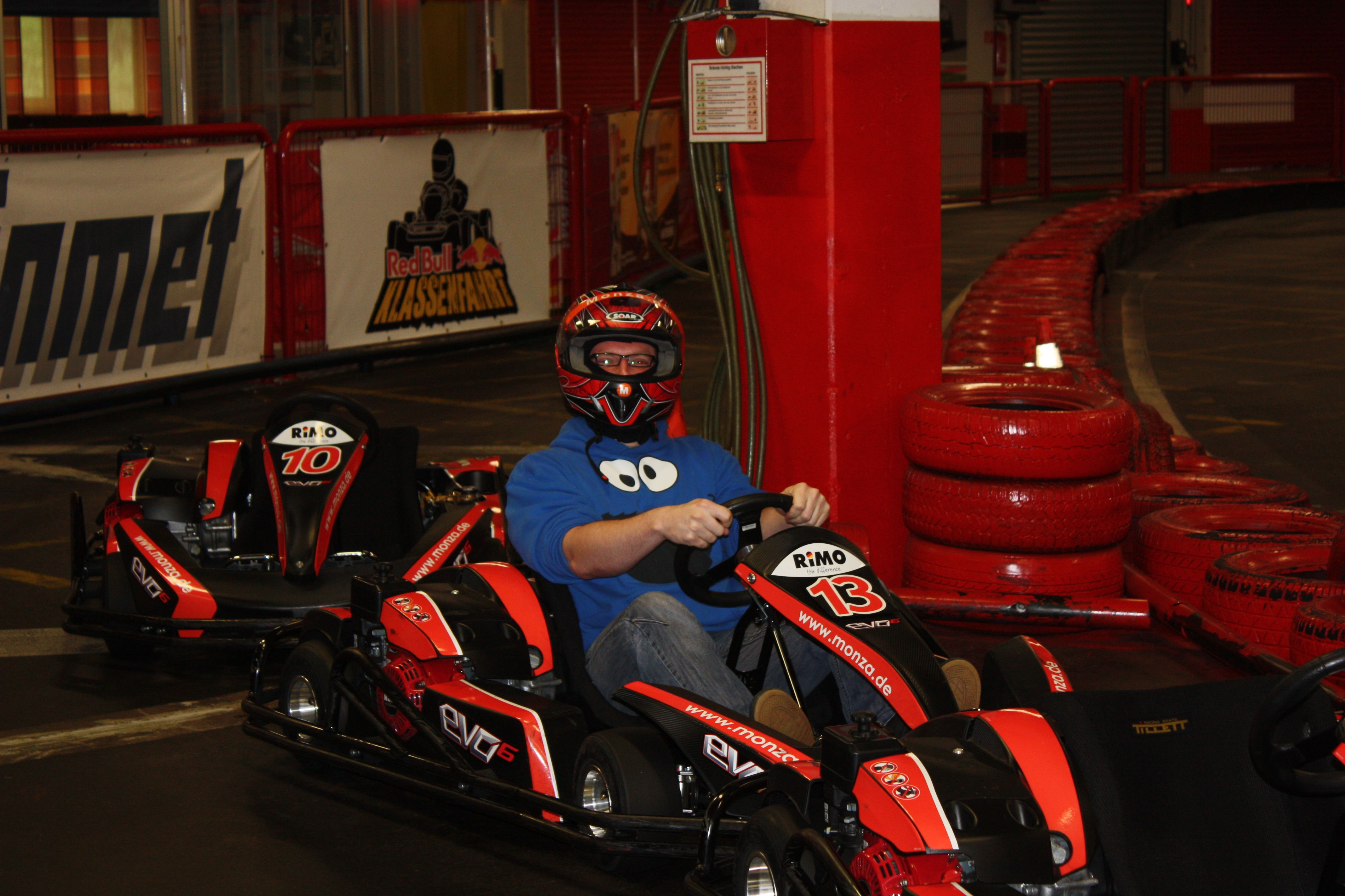 Kartfahren - Ich bin bereit - hupp hupp