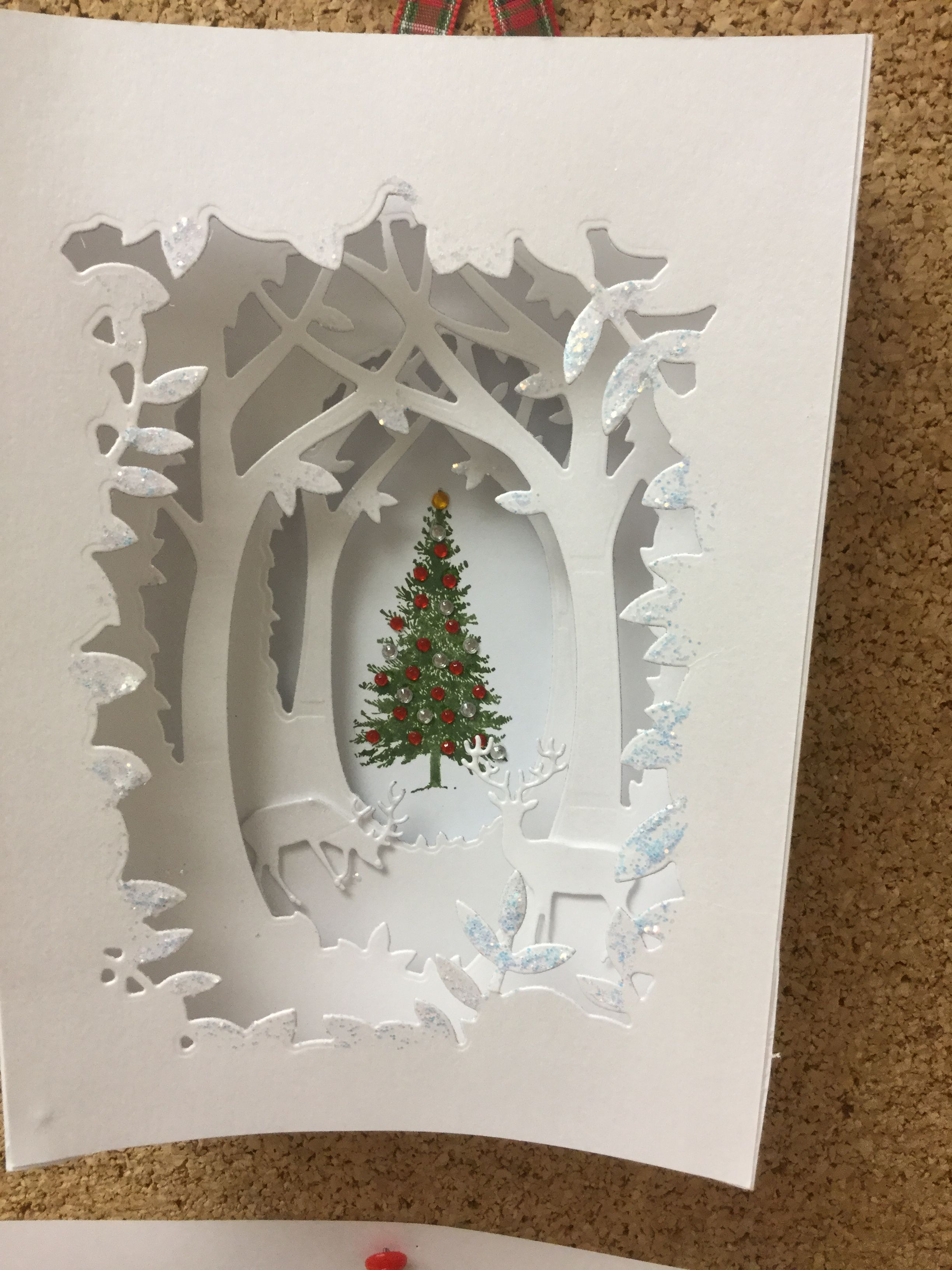 Pin By Yudhinia Venkanteswari On Build A Scene Christmas Card Crafts Christmas Card Inspiration Pop Up Christmas Cards