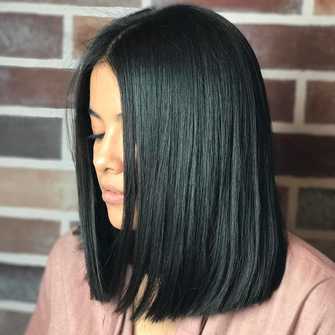23+ Medium blunt hair cut ideas