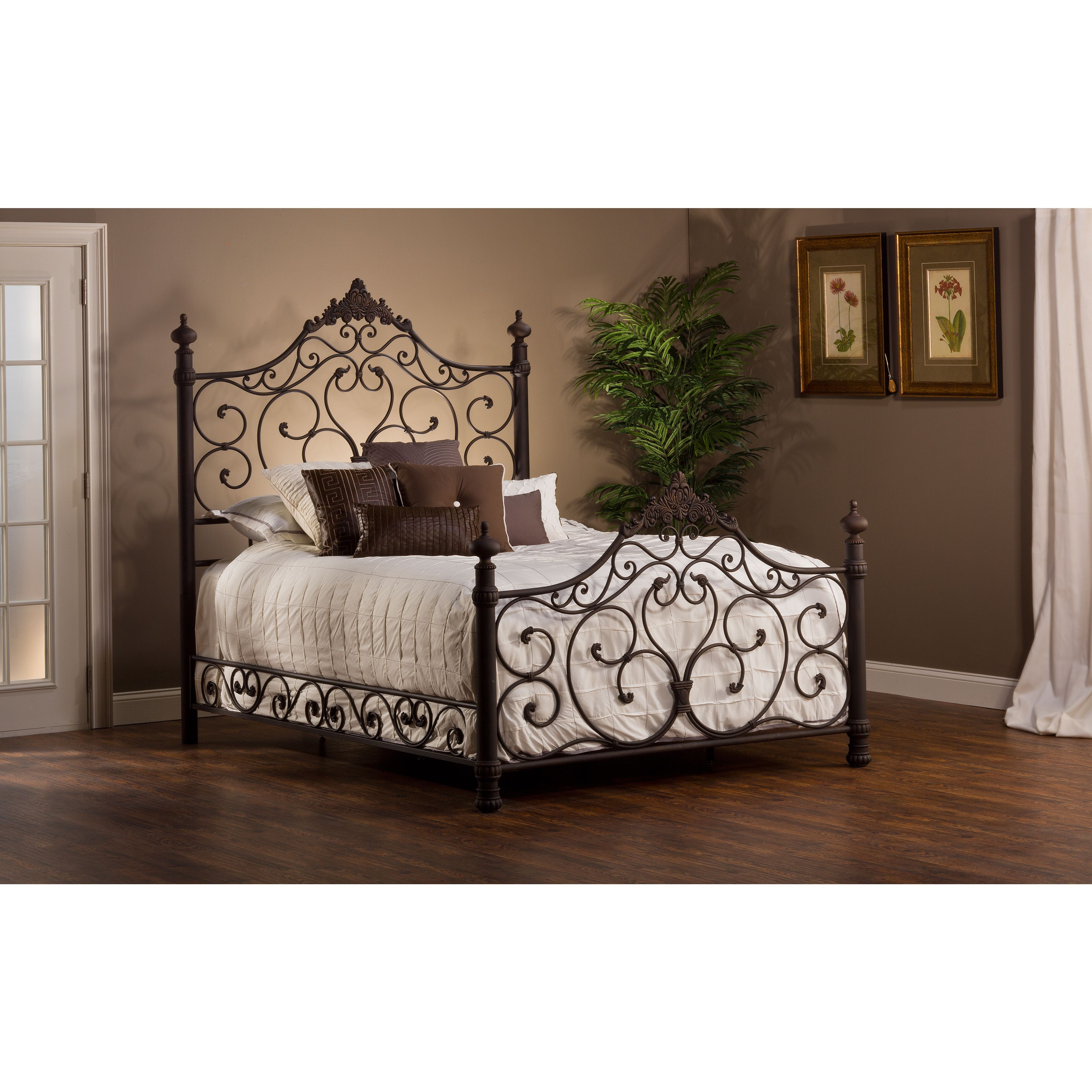 Baremore Antique Brown Bed Set | Recamara
