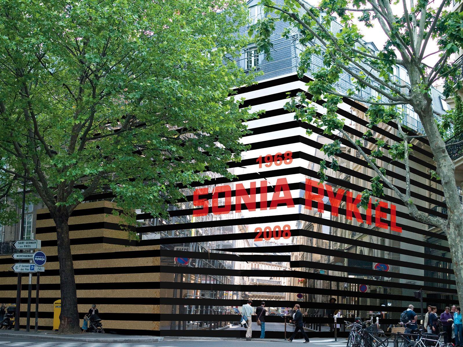 Sonia Rykiel, boutique Saint Germain, Paris, Staged by ATHEM