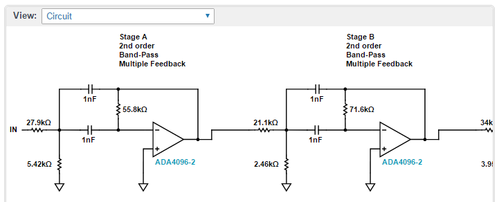 Design Low-Pass, High-Pass, and Band-Pass Filters in ...