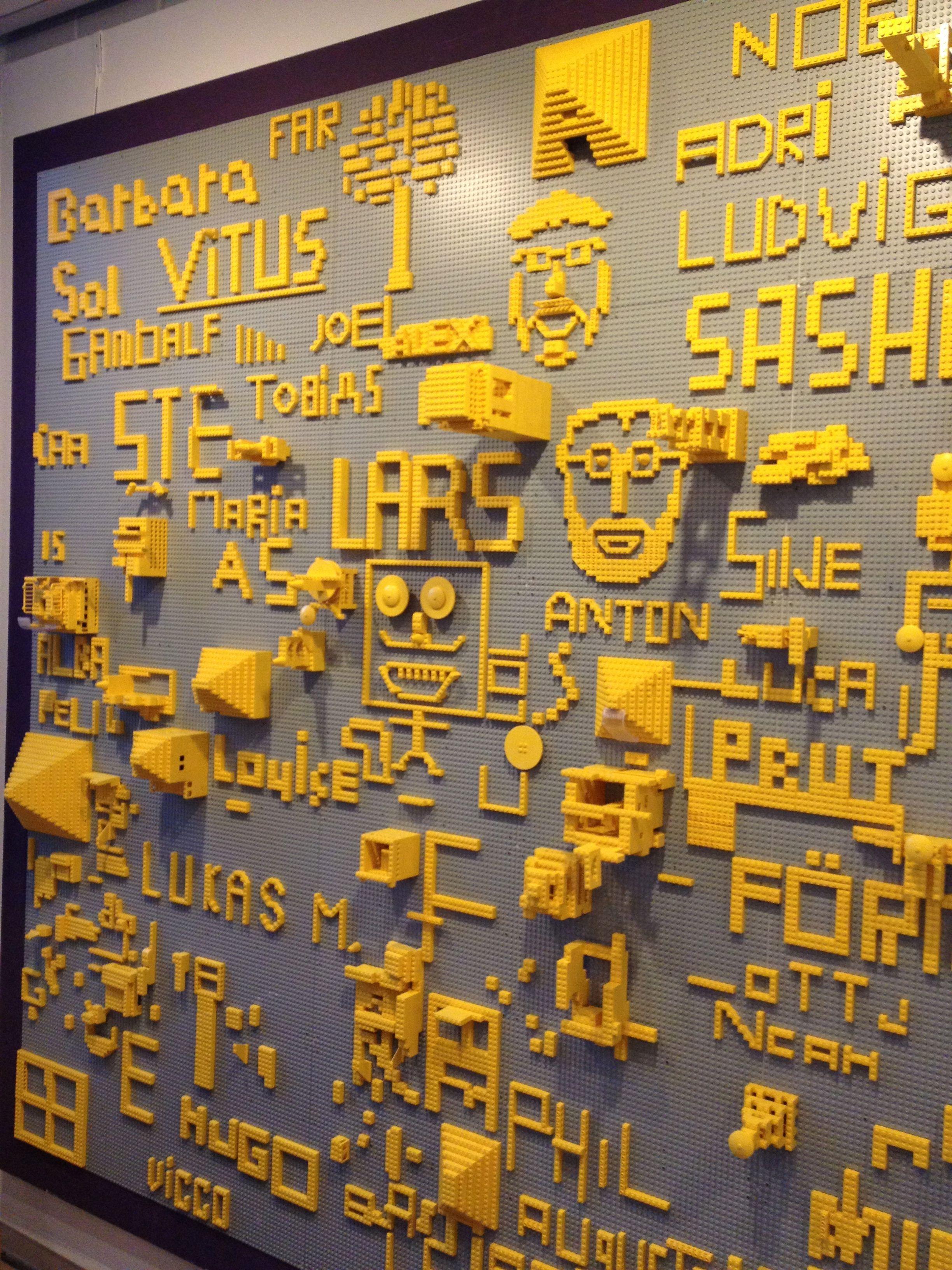 Lego Wall Louisiana Museum Of Modern Art Denmark Lego