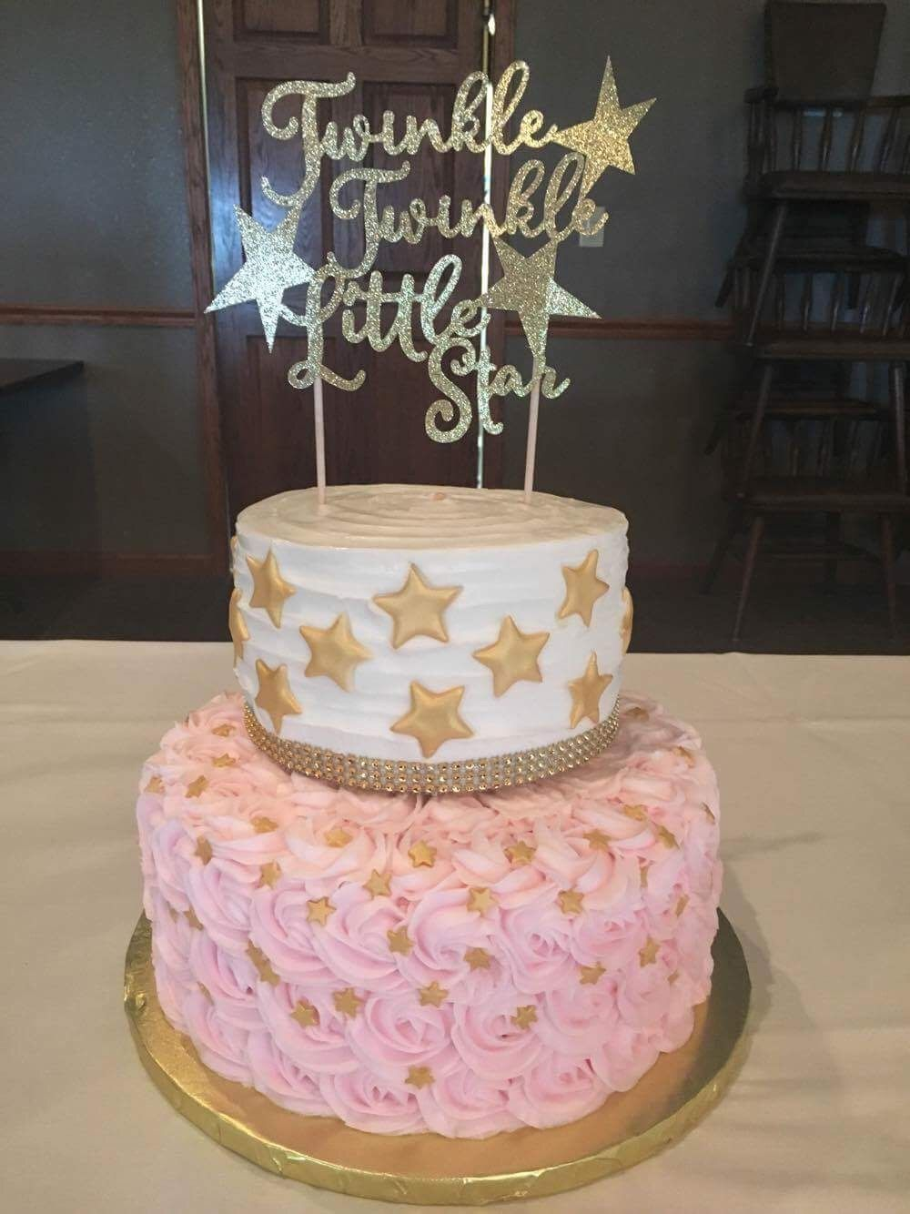 Twinkle Little Star Cake With Images Twinkle Twinkle Baby