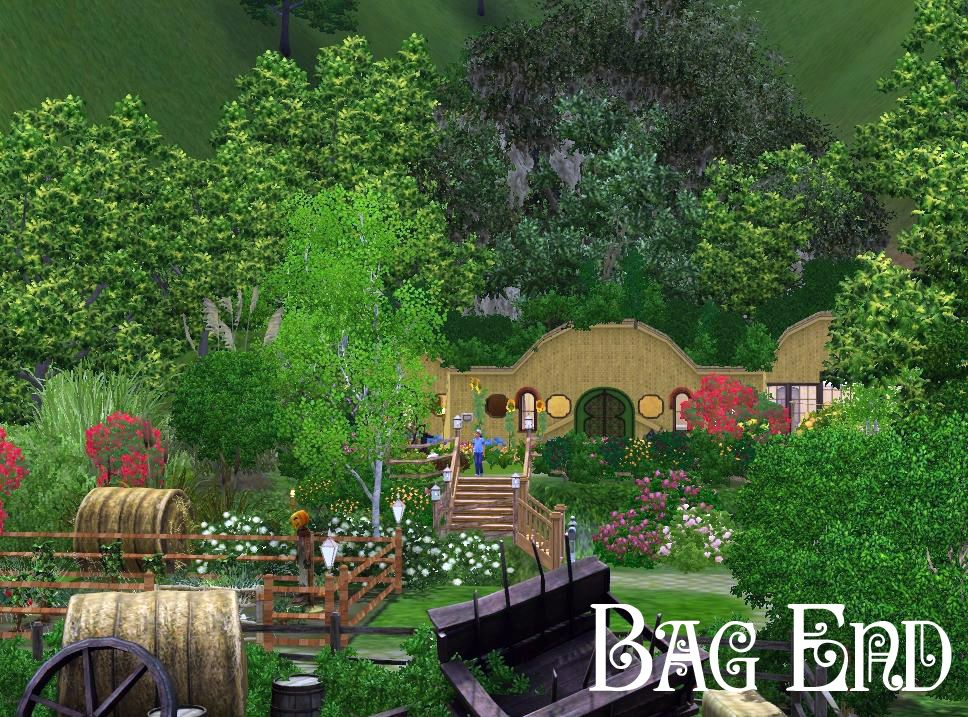 Must Have Gorgeous Sims 3 Houses And Villas Hobbit House Sims Sims 3
