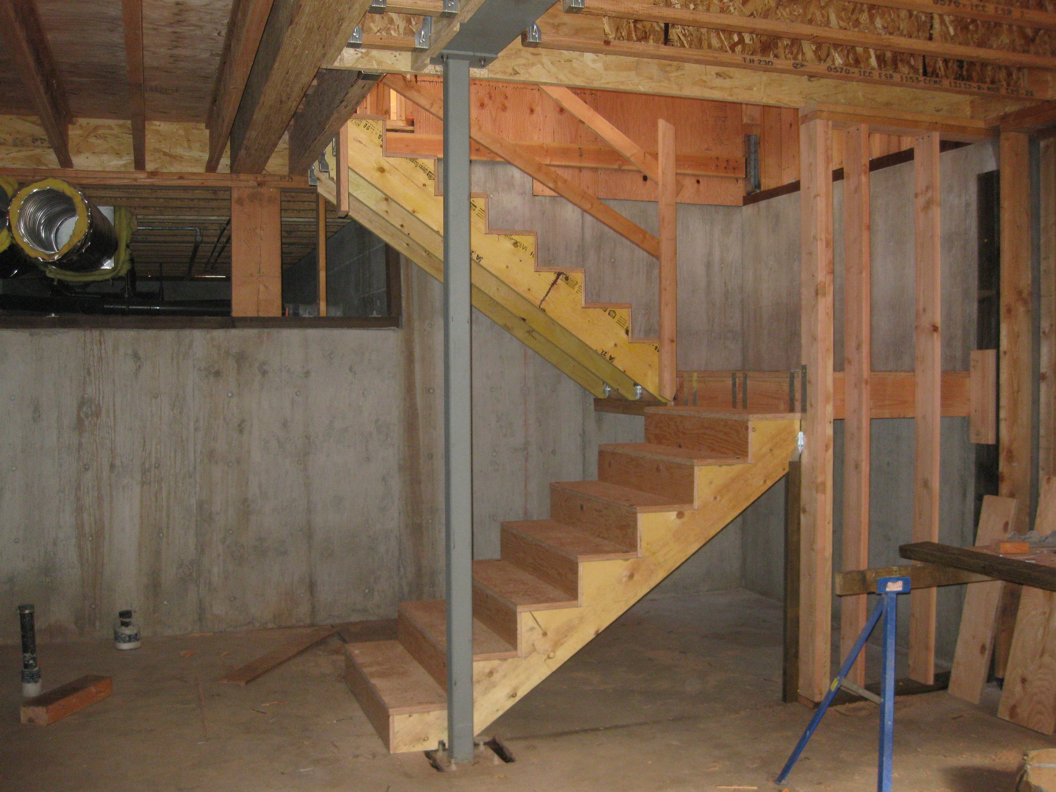 Perfect Basement Stair Framing   Google Search