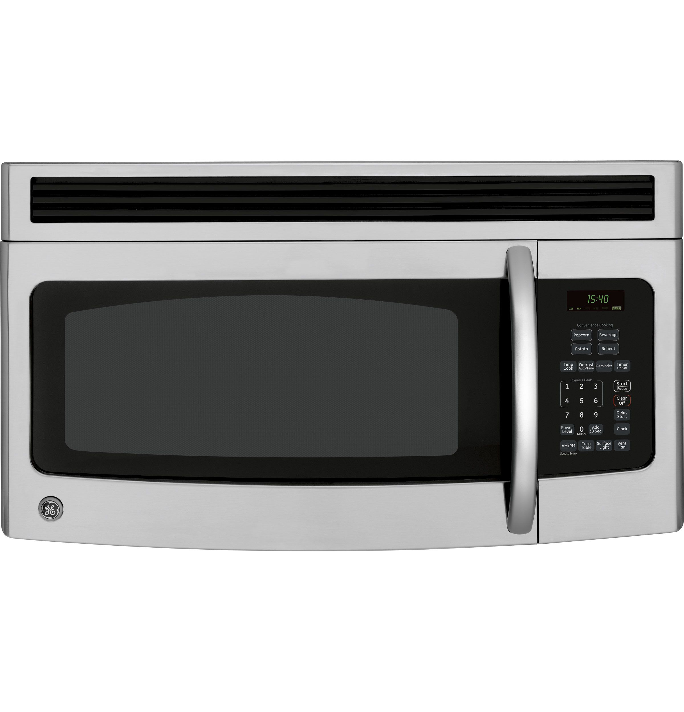 Jnm1541smss Ge Spacemaker Over The Range Microwave Oven Ge Appliances Range Microwave Stainless Steel Microwave Microwave Oven