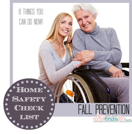 Fall Prevention Home Safety Checklist this list has good