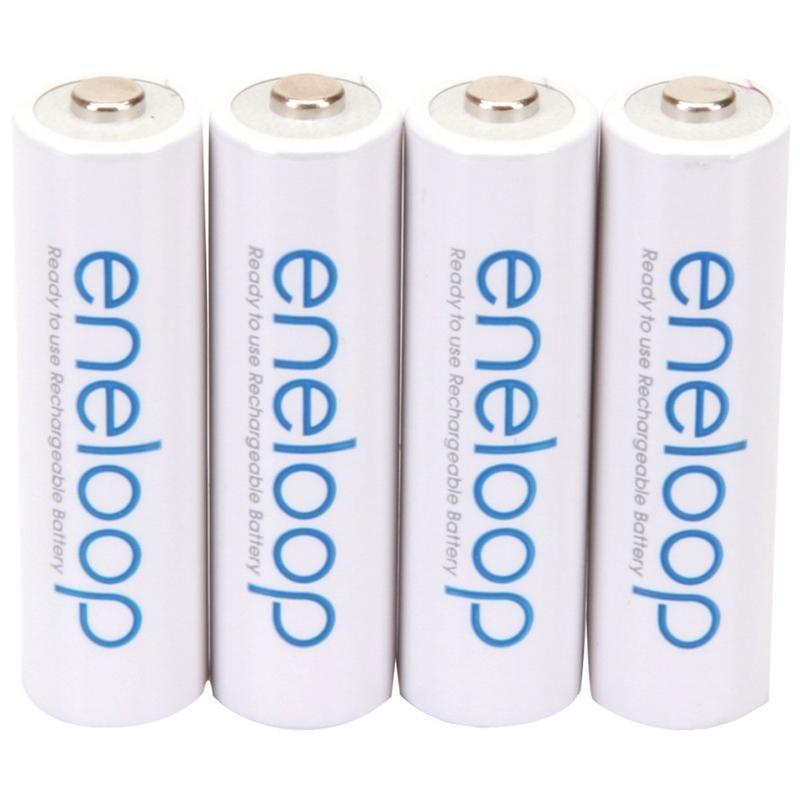 Panasonic Eneloop Batteries Aa 4 Pk Rechargeable Batteries Recharge Panasonic