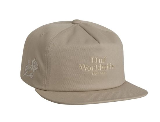 HUF is a skate and streetwear brand that always provide a nice selection of  headwear goods. Top your outfit with the Ambush Roses Sand Snapback Cap. 92bb30320ab1