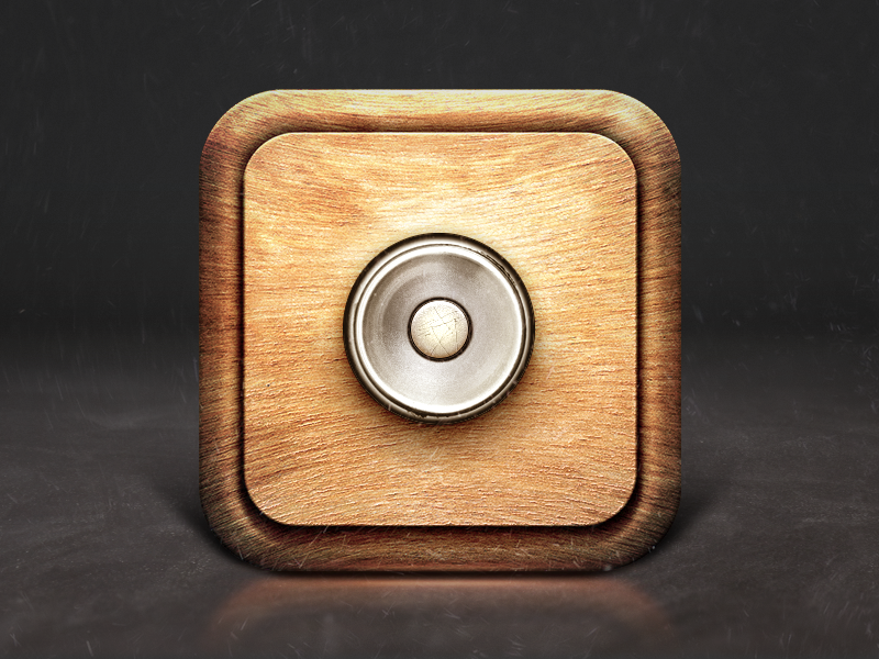 The Button So Putting A Big Red Button With A Do Not Press In My House App Icon Design App Icon Icon Design