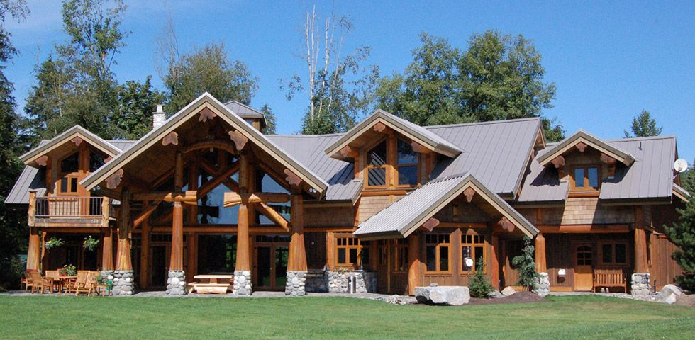 West Coast Log Homes – Custom built log and timber homes