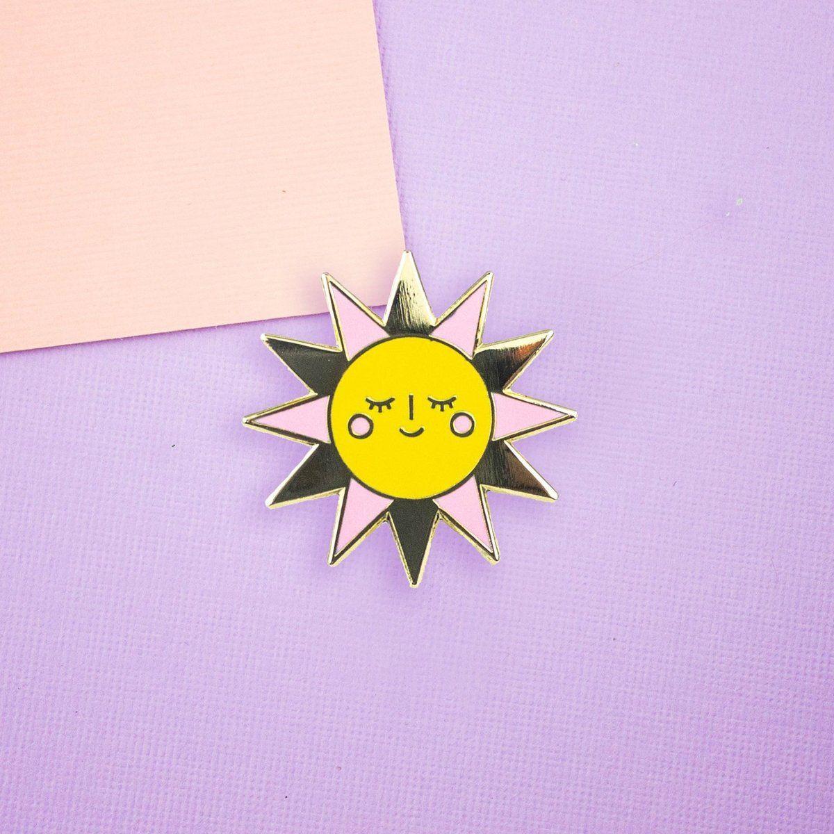 Sweet Sunshine Enamel Pin in 2019 | The Wonderful World of Disney