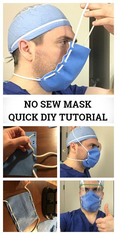 Photo of Low Cost Face Shield  Mask DIY Tutorial + Video | Fabric Art DIY