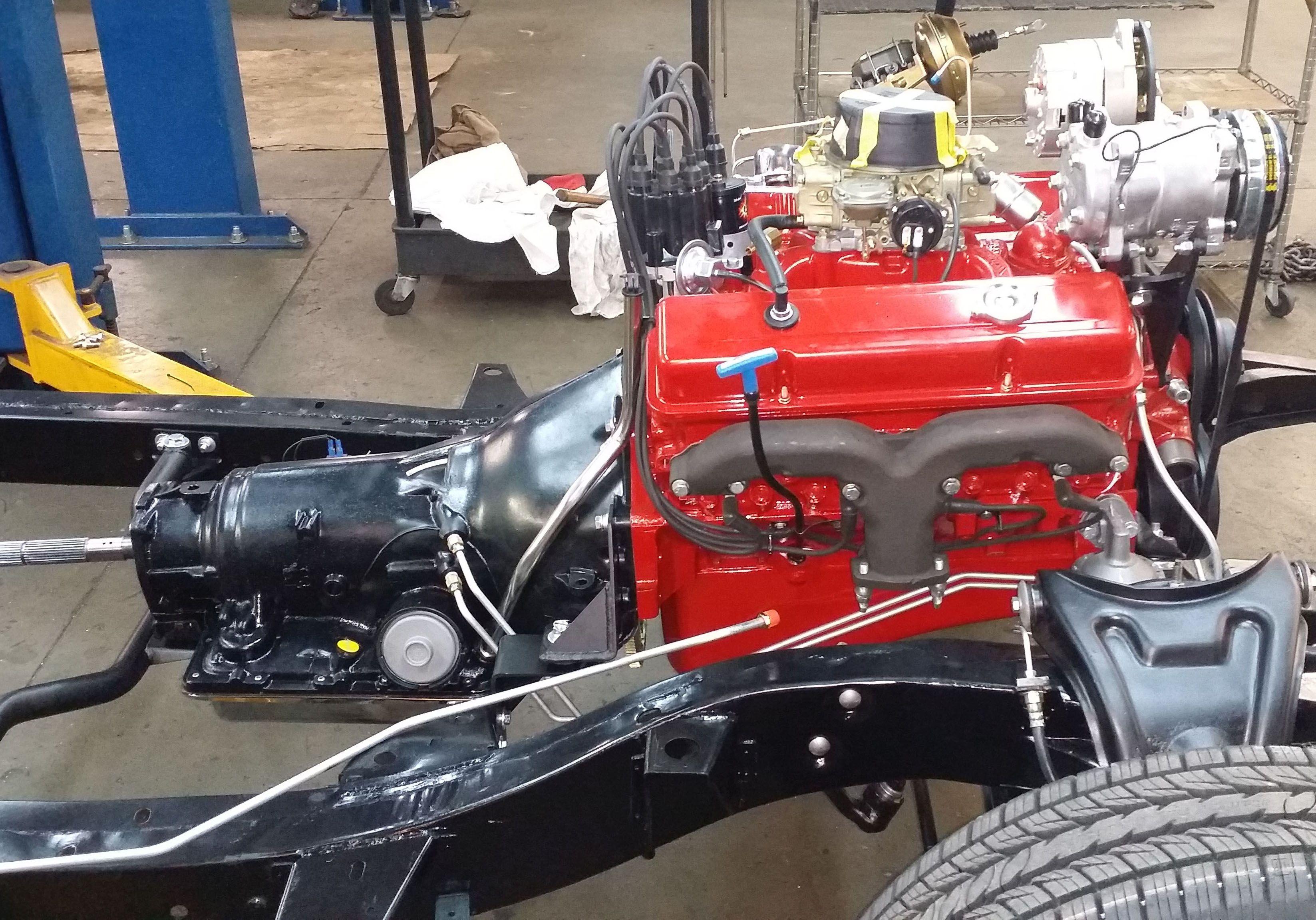 383ci stroker crate engine small block gm style longblock iron blueprint engines customer stan gilbreath installed a bp3832ct1 in his 1956 bel air blueprintengines bp3832ct1 frameoffrestoration belair malvernweather Images