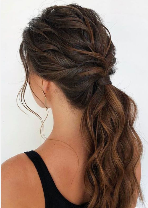 82 Low Or High Ponytail Haircuts For Short Or Long Hair