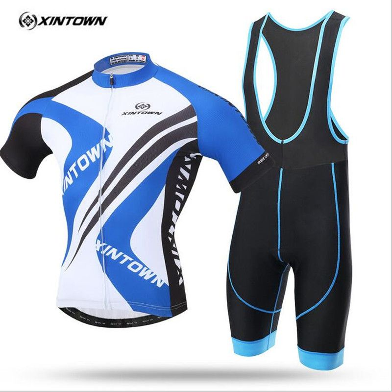 XINTOWN 2017 Cycling Clothing Bike Clothing Breathable Quick Dry Men  Bicycle Wear Cycling Sets Short 7410b5bb3