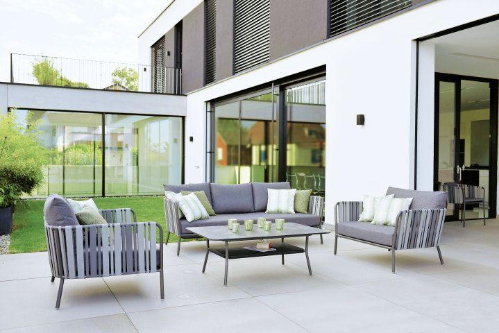 Modern und geradlinig Space Outdoorsofa von Stern Möbel