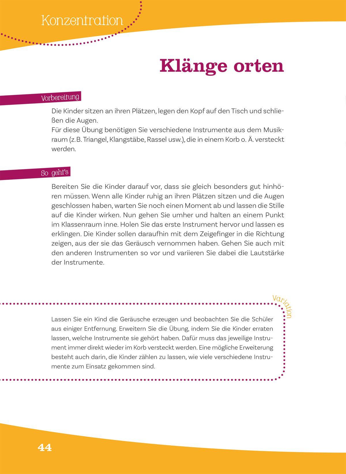 Gratis-Arbeitsblatt für den Musikunterricht in der Grundschule: Die ...