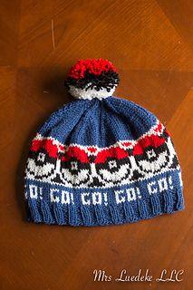 d3e39bf2c A PokéHat pattern by Mrs Luedeke   Knitting   Crochet pokemon ...