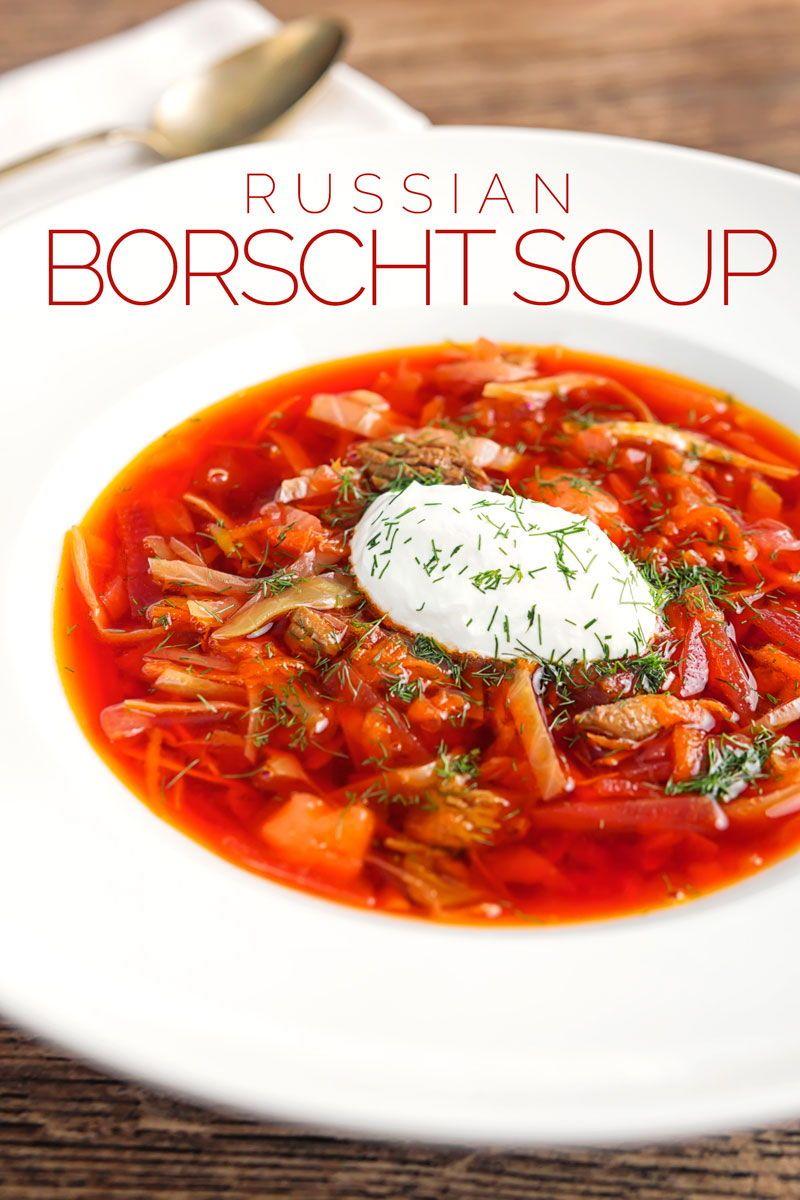 Russian Borscht Soup Recipe Russian Borscht Soup Borscht Soup Borscht