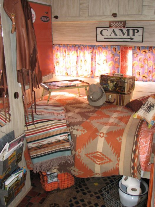 interior vintage RVs - Google Search  camper  Pinterest