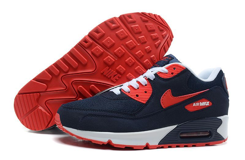 Find Nike Air Max 90 Dark Blue White Red Mens Running Shoes online or in Nikelebron. Shop Top Brands and the latest styles Nike Air Max 90 Dark Blue White ...