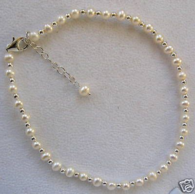 ankle sterling bracelets anklet silver ball inch chain with bracelet
