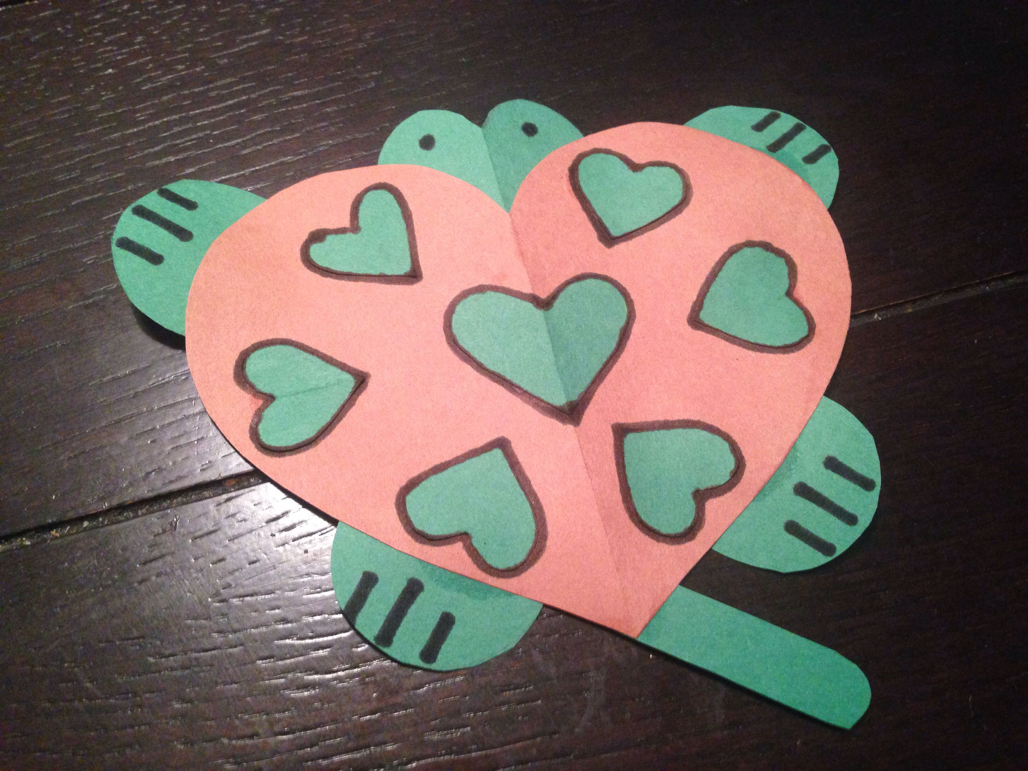 TURTLE HEART CRAFT | stuff | Pinterest | Heart crafts and ... - photo#21