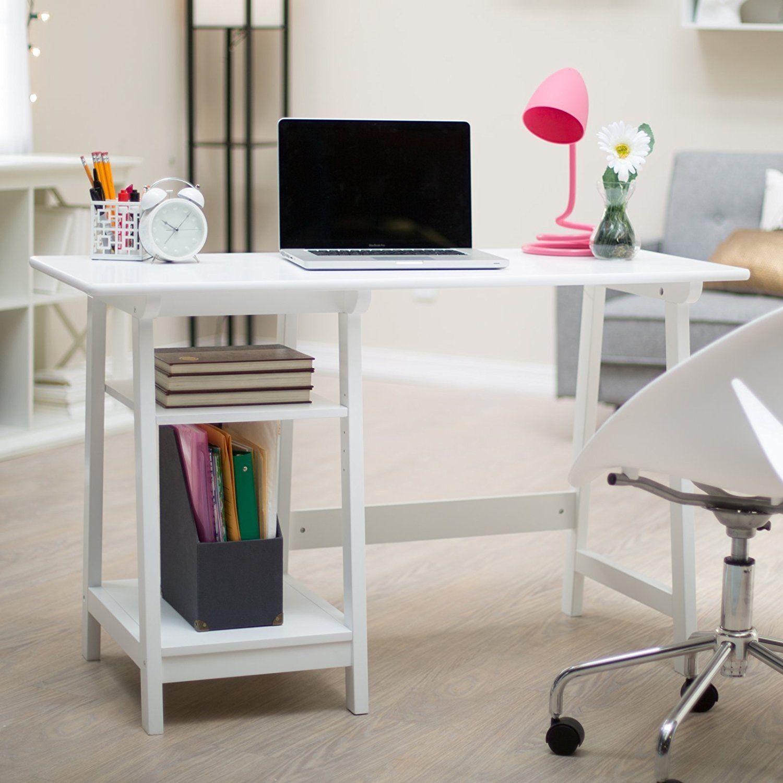 Amazon.com: Manhattan Open Computer Desk With Adjustable