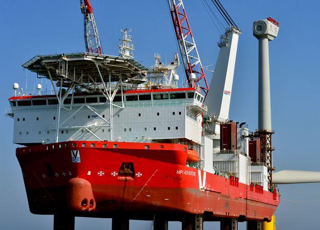 mpi adventure offshore installation jack up vessel at. Black Bedroom Furniture Sets. Home Design Ideas
