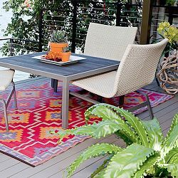 Lhasa Plastic Outdoor Rug Patio