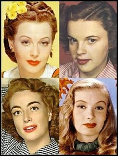Twentieth Century Makeup Looks 1940s Makeup Vintage Makeup Looks Makeup Looks