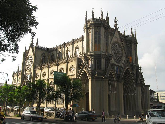 La iglesia nuestra se ora del carmen san jos situada en - Arquitectura pereira ...
