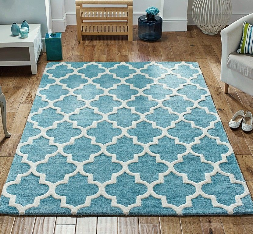 Best Arabesque Light Teal Image 1 Teal Rug Turquoise Rug Rugs 400 x 300