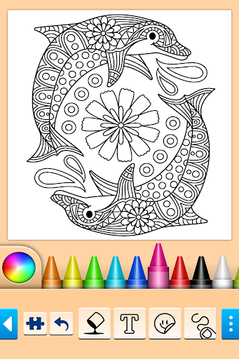 Mandala Coloring Pages 13 0 2 Apk Mod Mandala Coloring Pages Mandala Coloring Coloring Pages