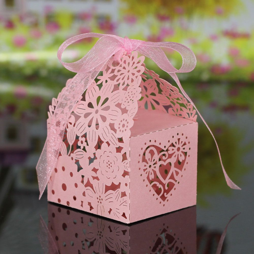 20pcs Delicate Laser Cut Butterfly Candy Box for Festival Party ...