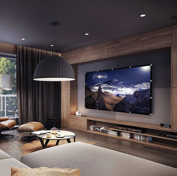 Pin By Oliveira Giselem On Sala In 2020 Living Room Tv Home Theater Rooms Small Living Room Decor