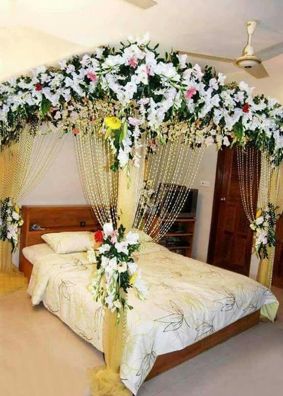 Bedroom Decoration For Wedding Night Pakistani Bedroom Decor For Women Romantic Room Decoration Wedding Room Decorations
