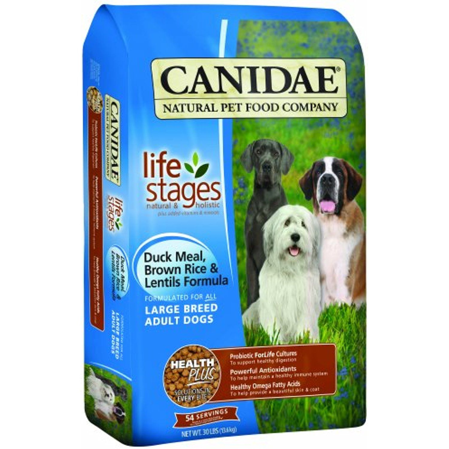 Canidae All Life Stages Large Breed Adult Dog Food Made With Duck