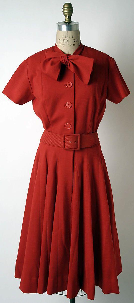 Norman Norell Dress American Retro Fashion Vintage Fashion Clothes Women Vintage Fashion