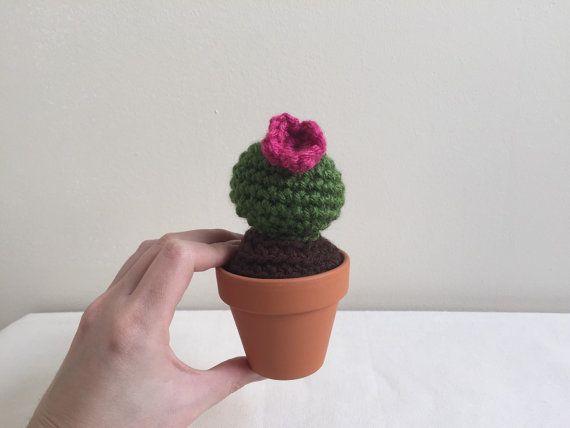 Amigurumi Cactus : Barrel cactus amigurumi cacti cactus cacti by theknitknackshop