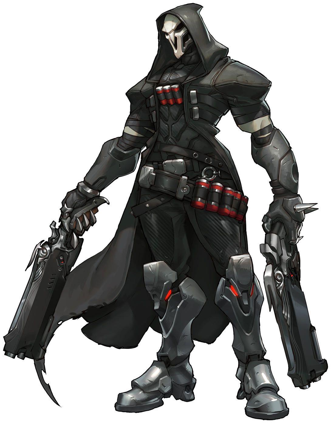 Reaper , Characters \u0026 Art , Overwatch
