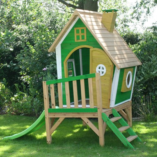 Garden Games Whacky Tower Playhouse In 2019 Products Play Houses