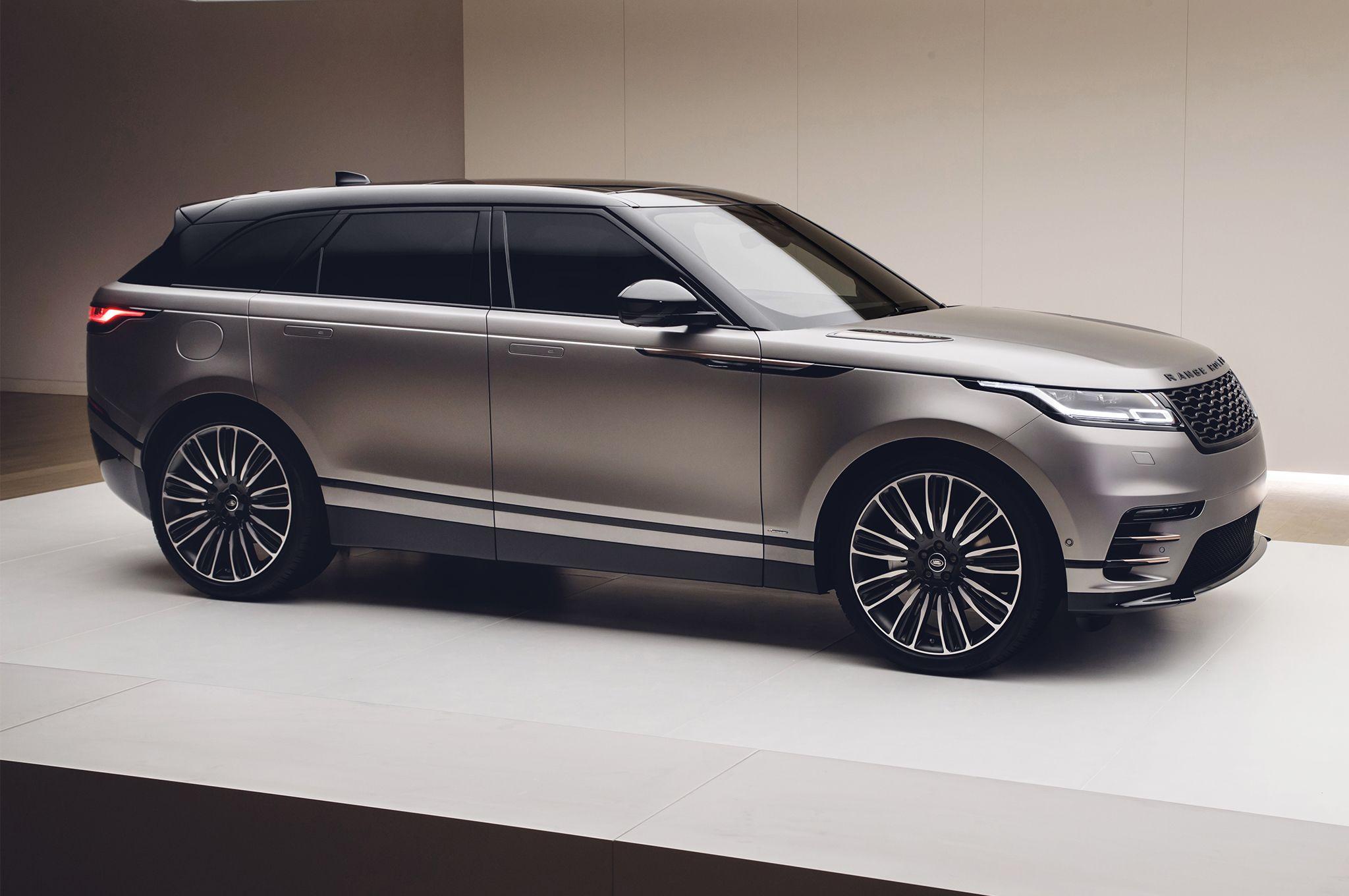 2018LandRoverRangeRoverVelarfrontside Luxury cars