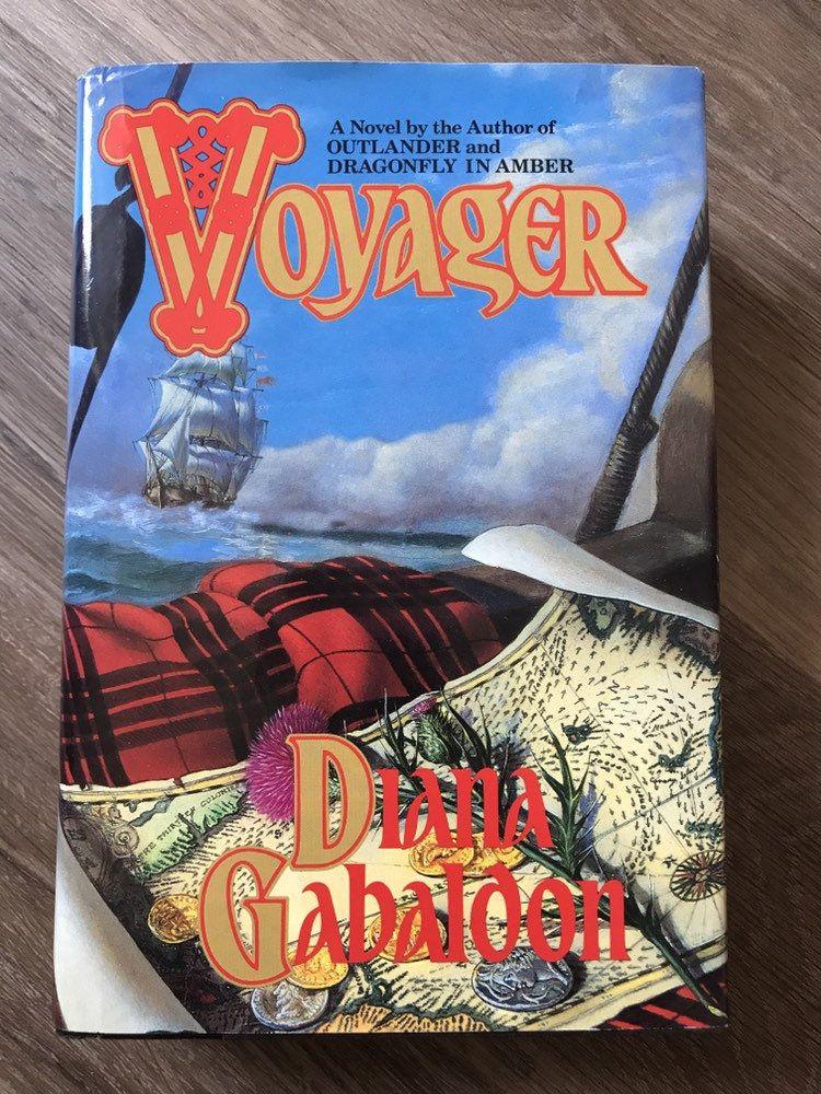 Voyager By Diana Gabaldon 1994 Livre à couverture rigide avec jaquette 1st Ed, Outlander Book 3