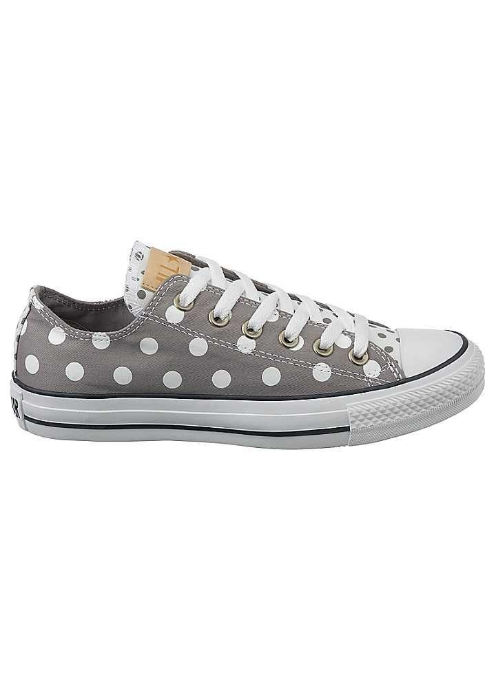 grey polka dot converse off 54% - www