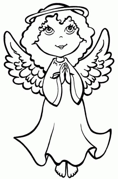dibujos de angeles 1   nadal   Pinterest   Colores, Navidad y Dibujos