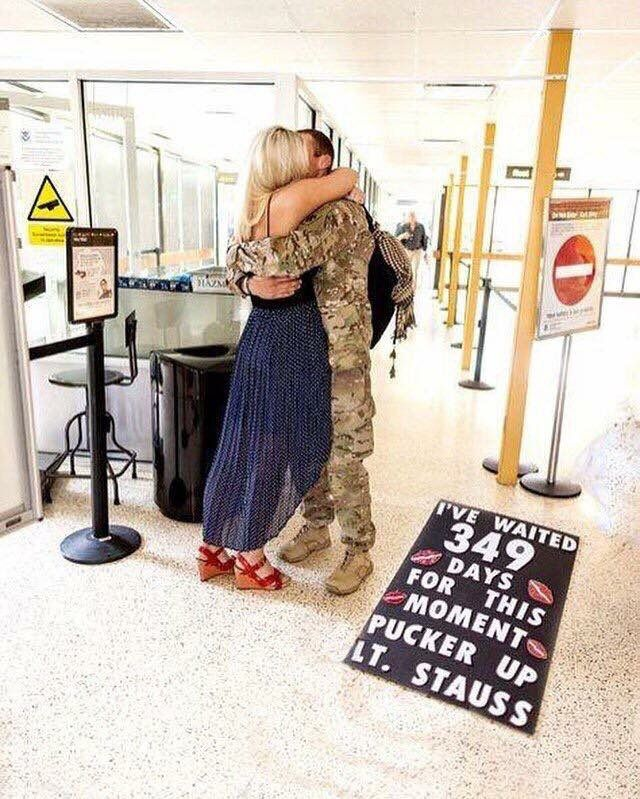 Military Homecoming Signs, Military